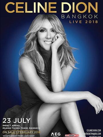 CELINE DION LIVE 2018 IN BANGKOK