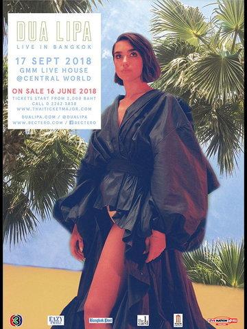 DUA LIPA LIVE IN BANGKOK 2018