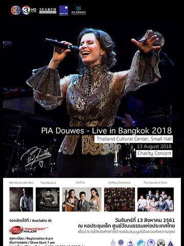 PIA Douwes - Live in Bangkok 2018