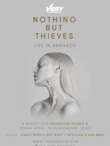Nothing But Thieves Live in Bangkok