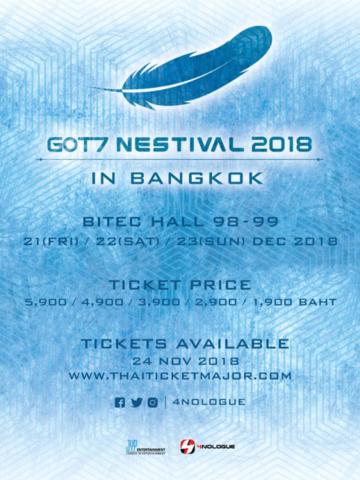 GOT7 NESTIVAL 2018 IN BANGKOK