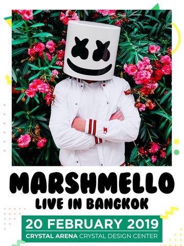 Marshmello Live in Bangkok 2019