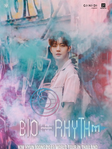 "KIM HYUN JOONG 2019 World Tour ""BIO-RHYTHM"" In Thailand"