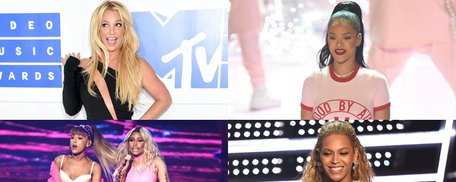 ประมวลภาพ+ รายชื่อผู้ชนะรางวัล MTV Video Music Awards 2016