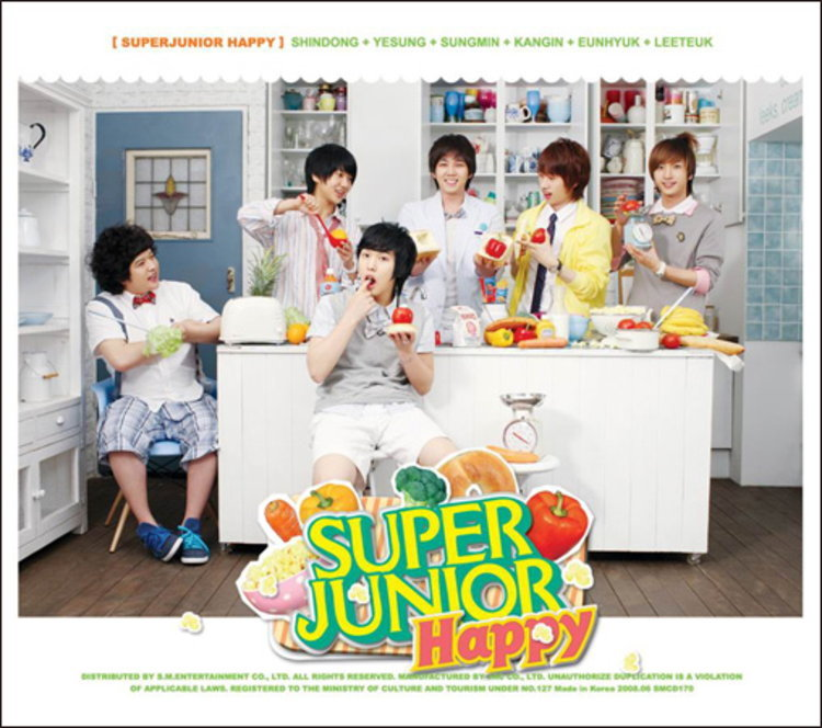 SJ เปิดตัวยูนิตใหม่ Super Junior - Happy