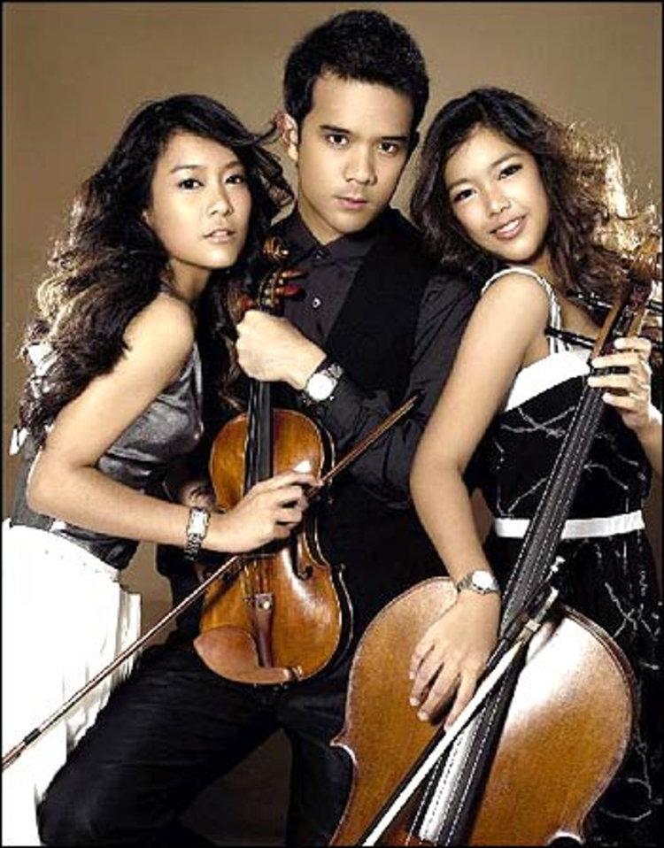 วี ทรีโอ้ วงดนตรีคลาสสิกของสามพี่น้องตระกูลศรีณรงค์