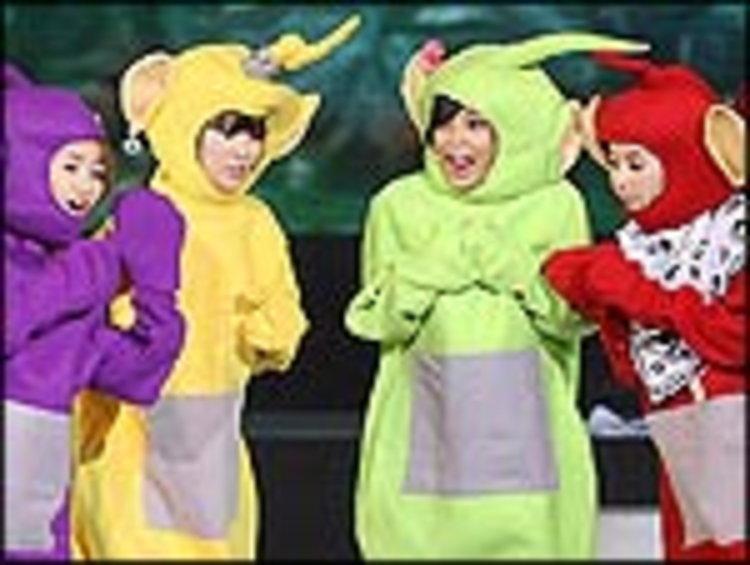 Wonder Girls โชว์ฮา! แต่งชุด เทเลทับบี้ส์ มีทติ้งแฟนคลับ สวยขำทำไปได้!