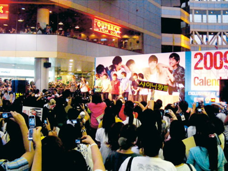 การกลับมาของ Shinee ที่ป่วนหัวใจสาวชาวไทยอีกครั้ง