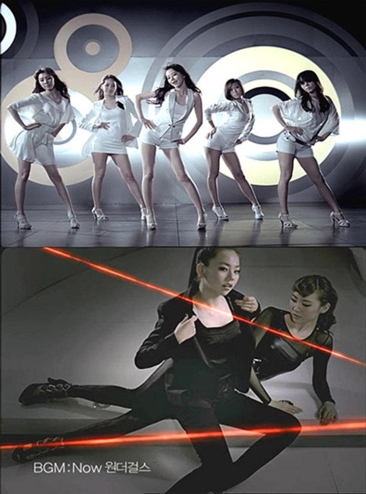 Wonder Girls เตรียมเปิดตัวมิวสิควีดีโอรีเมค Fin.K.L Now โฆษณามือถือ EVER