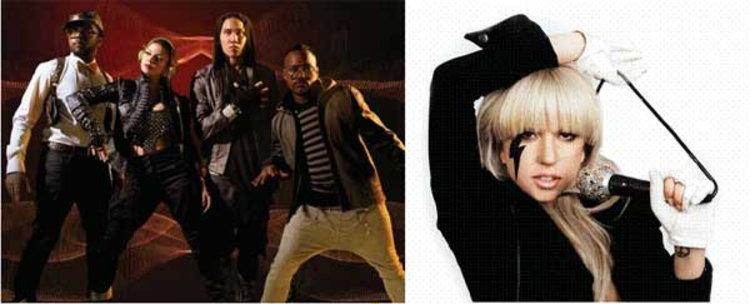 Black Eyed Peas ควง Lady Gaga แร๊งงง!!!