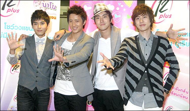 ชีวอน - ฮันคยอง - คยูฮยอน - รยออุค คอนเฟิร์ม เอลฟ์ไทยเตรียมพบ Super Junior ยอลเซมยอง แน่นอน !!