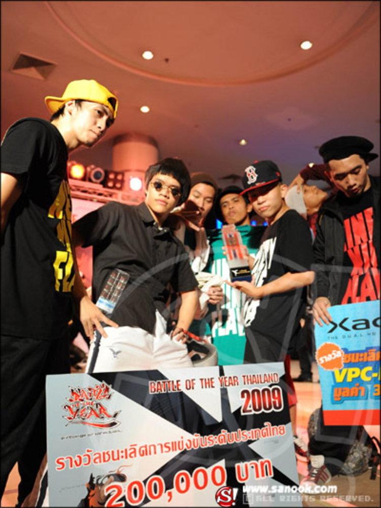 ทีม Ninety Nine Flava  คว้าแชมป์ Battle of the Year Thailand 2009