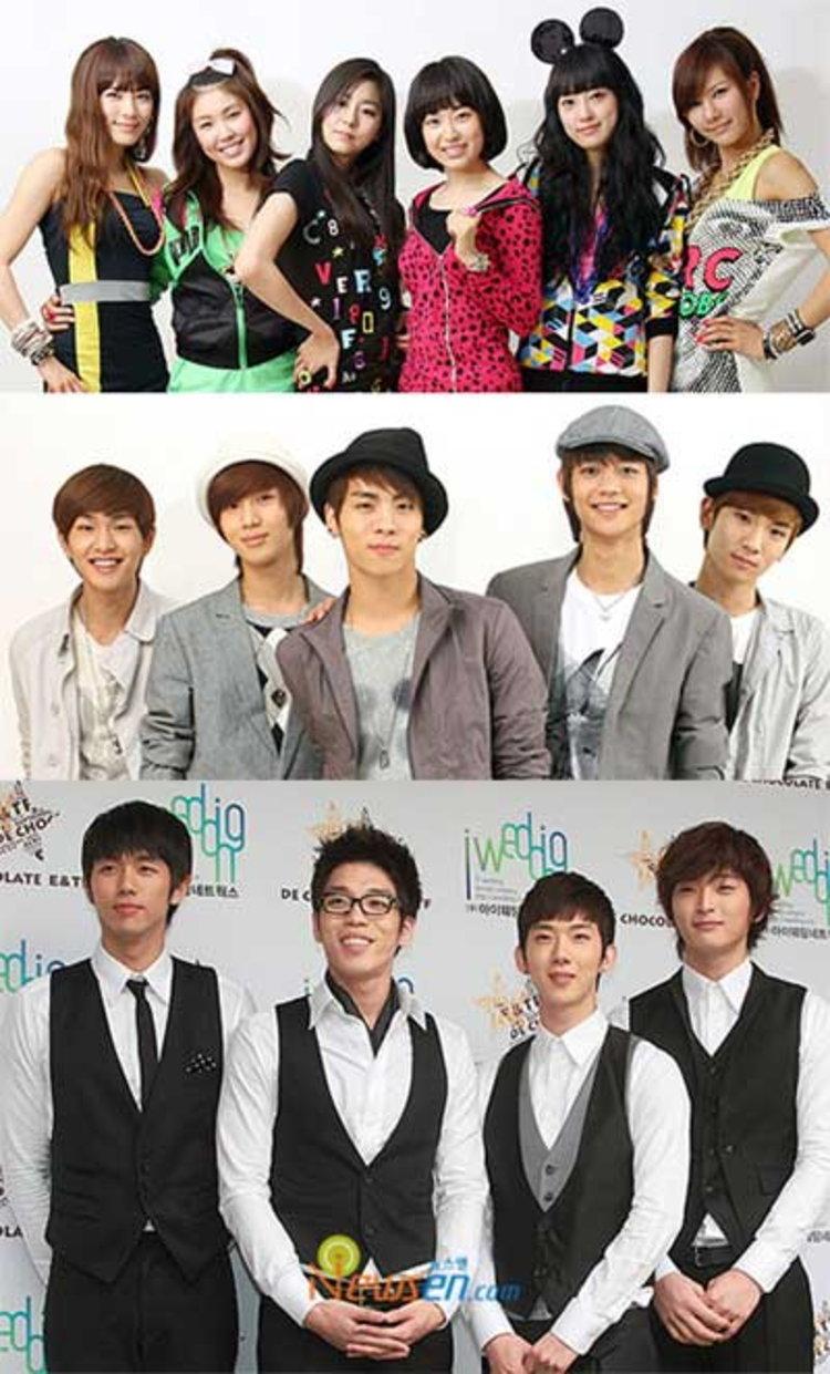 ศิลปินแปลงโฉม SHINee→BoA, After School→2PM, 2AM→4minute