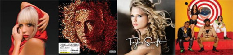 Lady Gaga VS Taylor Swift VS Eminem