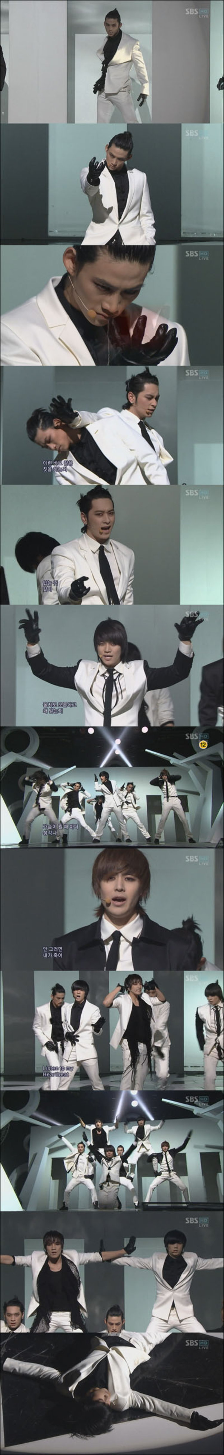 6 สมาชิก 2PM คัมแบ็คสมบูรณ์แบบ 3 สถานีโทรทัศน์เกาหลี พร้อมเพลง Heartbeat