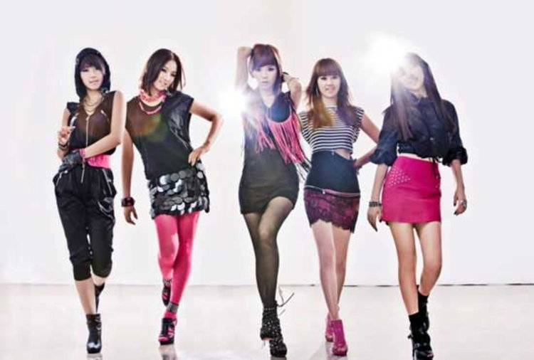4minute เตรียมขึ้นโชว์เพลง 'Muzik' ใน KBS 2TV 'Music Bank'