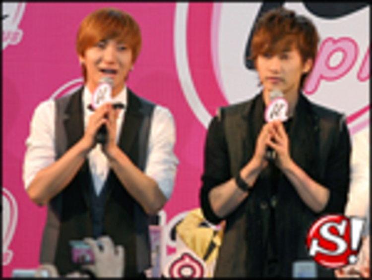 อีทึก - อึนฮยอก - ซองมิน ( Super Junior ) รวมตัวพบปะแฟนคลับ พร้อมร่วมกันทำบุญ