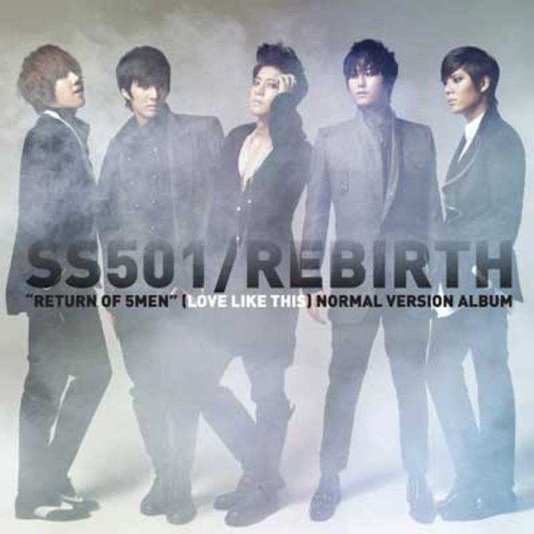 "5 MEN Return SS501 ""Rebirth"""