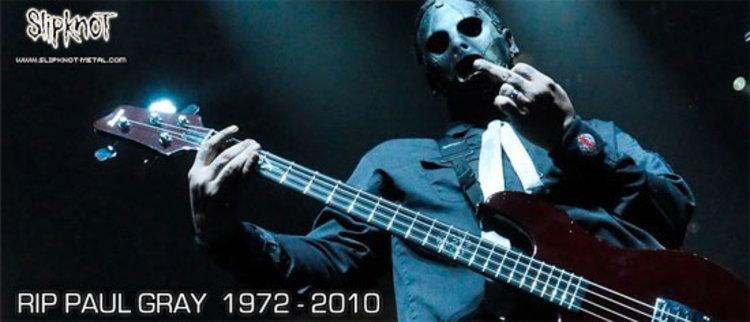 พอล เกรย์ มือเบสวงเมทัลหน้ากาก Slipknot เสียชีวิตแล้ว