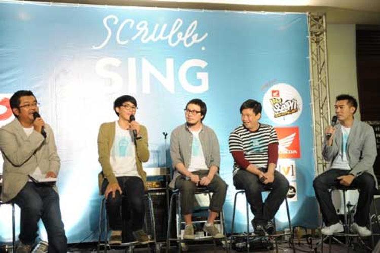 งานแถลงข่าว scrubb sing   คอนเสิร์ตเต็มรูปแบบครั้งแรกในรอบ 10 ปีบนถนนดนตรี