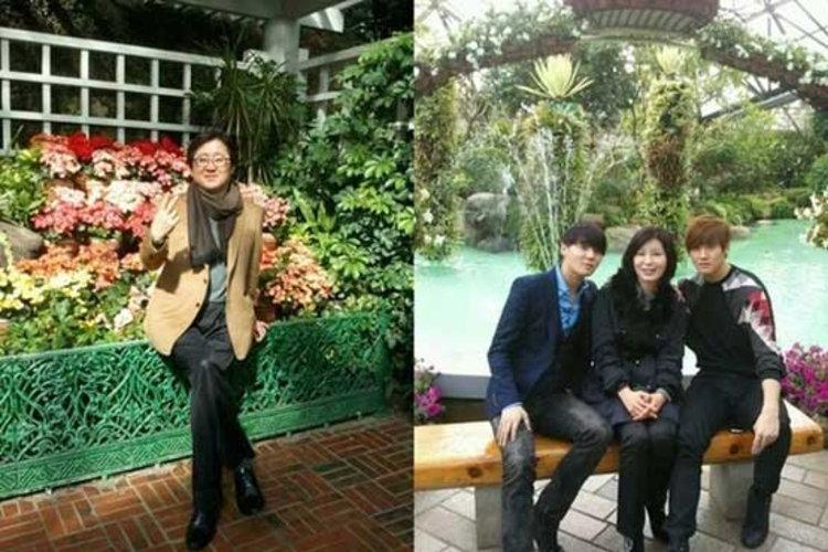 คิมจุนซู แห่ง JYJ เผยภาพครอบครัวแสนอบอุ่น พ่อแม่ลูก