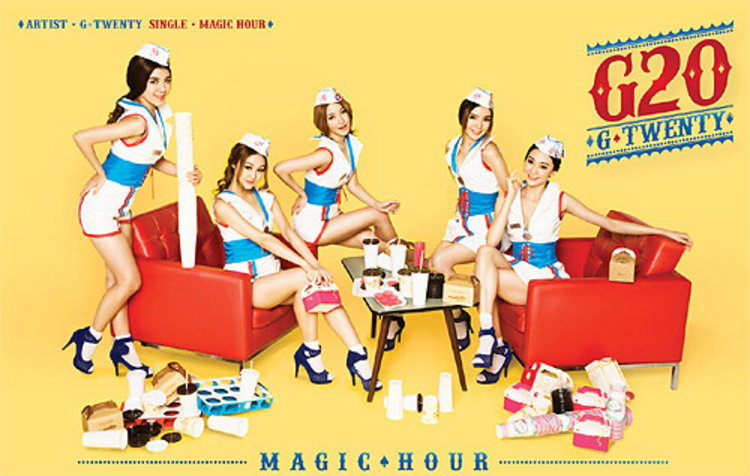G-TWENTY เผยภาพนิ่งคอนเซปท์เพลงซิงเกิล4 Magic Hour