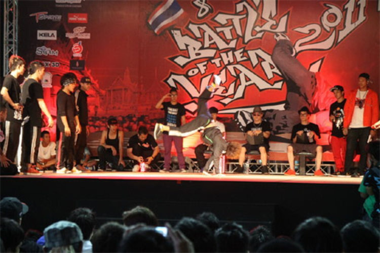 One Peace UD TOWN แชมป์บีบอย Battle of the Year Thailand 2011