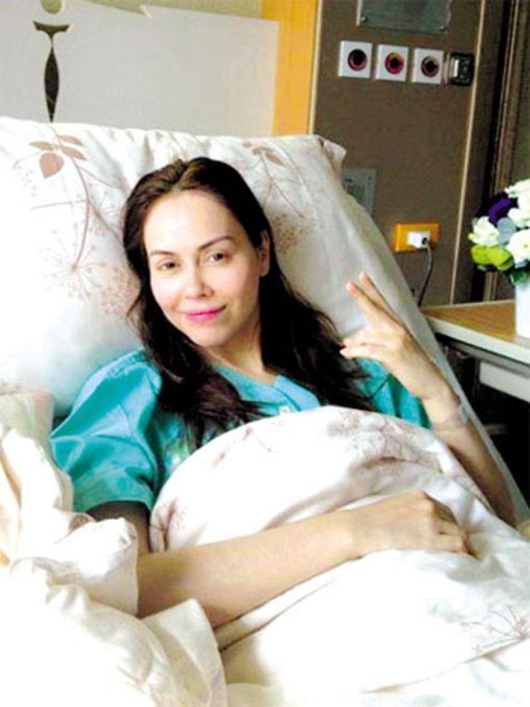 ผ่าเนื้องอกรังไข่ นัท โล่งรอดมะเร็ง