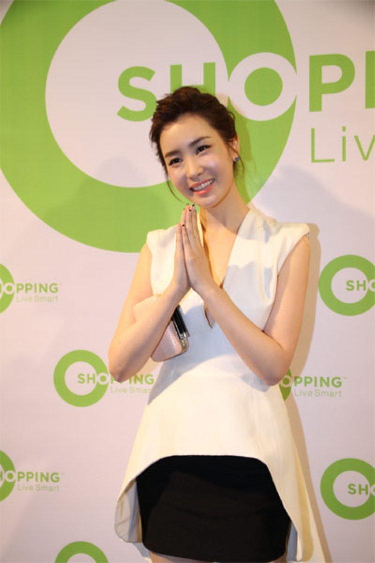 ลีดาแฮ นางเอกสาวสุดฮอตจากเกาหลี ร่วมงานช่องเคเบิลทีวี โอ ช้อปปิ้ง