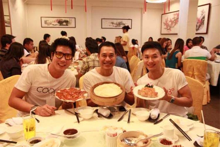 ม.ล.ภาสันต์ พาชิมอาหารจีนชั้นเลิศ พีเจไปป์-ซีเจ ยกนิ้วอร่อยอิ่มพุงกาง