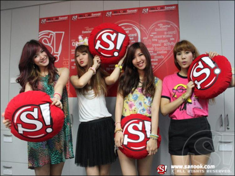 4 สาว วง โอลีฟส์ พกความ น่ารัก สดใส มาคว้าหัวใจชาวสนุก!!
