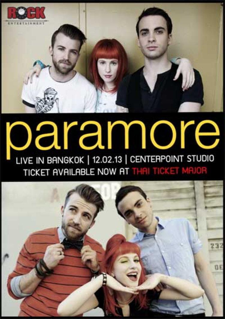 แรงส์ดี ไม่มีตก!! วงร็อครุ่นใหม่ระดับโลก Paramore
