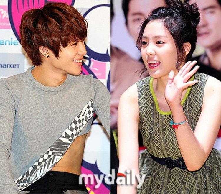 แทมิน-ซนนาอึน (SHINee-Apink) เปิดฉากคู่รักเด็กสุด