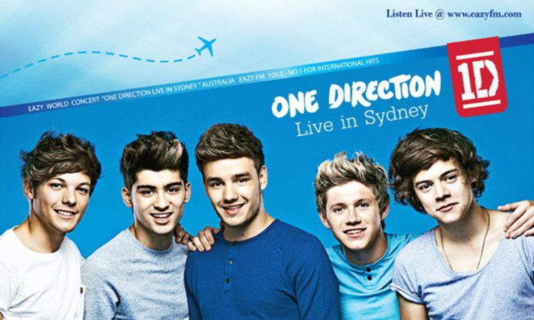 อีซี่ เอฟเอ็ม จัดทริปสุดฟิน พากรี๊ด 5 หนุ่ม One Direction ที่ออสเตรเลีย