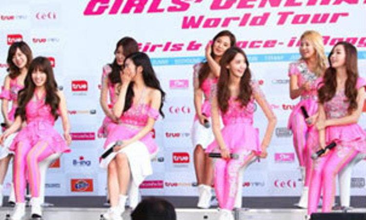 Girls' Generation เปิดใจยังรักเมืองไทย แย้มปี 2014 มีอัลบั้มใหม่แน่นอน
