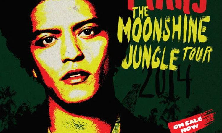 Moonshine Jungle Tour คอนเสิร์ตแรกในไทยของ บรูโน มาร์ส