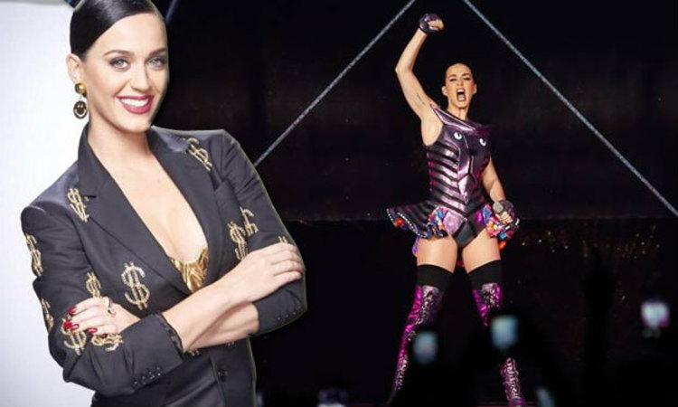Katy Perry สตรีที่มีรายได้สูงสุดด้านดนตรีแห่งปี 2015