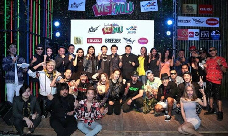 คอนเสิร์ต WET&WILD (The ultimate pool party series) ครั้งแรกของประเทศไทย