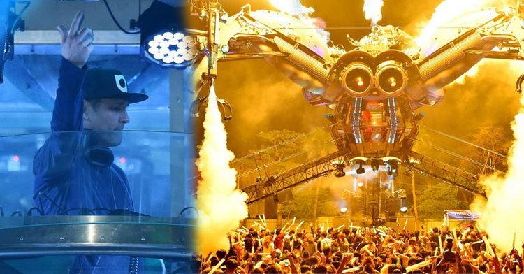 """""""อาร์เคเดียแมงมุมยักษ์พ่นไฟ"""" เดือดทะลุปรอทแดนซ์ กับ 5 ดีเจระดับโลก!!"""