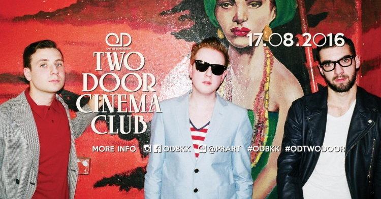 มาแล้ว! รายละเอียด Two Door Cinema Club Live in Bangkok 2016