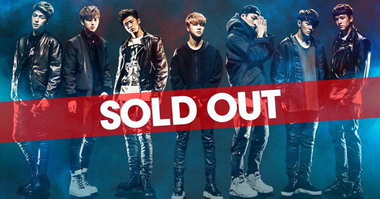 ไอคอน (iKON) แรง! บัตรคอนเสิร์ตขายเกลี้ยง (SOLD OUT) ตามคาด!!