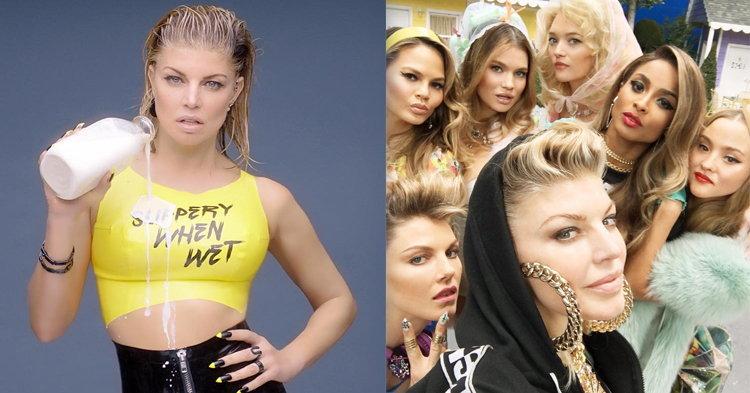 "Fergie ขนทัพเพื่อนดารากลับมาสวยปังในเอ็มวีใหม่ ""M.I.L.F. $"""