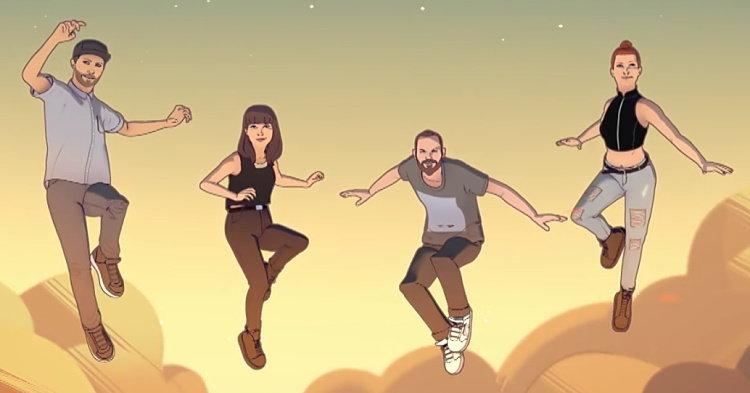 """CHVRCHES & Hayley Williams จาก Paramore แปลงร่างเป็นตัวการ์ตูนในเอ็มวี """"Bury It"""""""