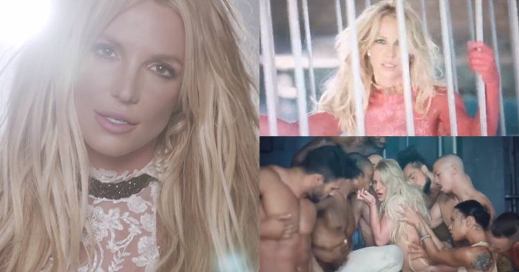 """ดราม่า! Britney Spears เอ็มวี """"Make Me…"""" ไม่แซ่บเหมือนภาพทีเซอร์!"""