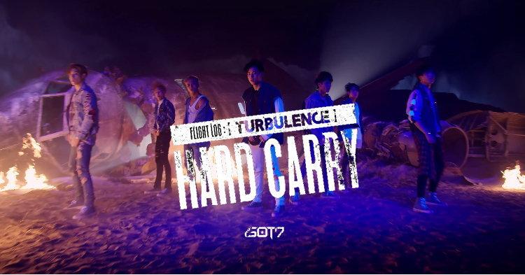 "GOT7 เท่ๆ แมนๆ บุกน้ำลุยไฟในเอ็มวี ""Hard Carry"""