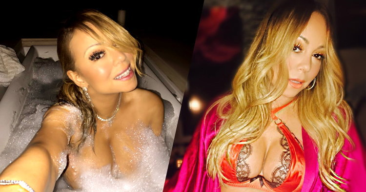 Mariah Carey โชว์หุ่นเซ็กซี่ เรียกน้ำย่อยก่อนปล่อยซิงเกิลใหม่