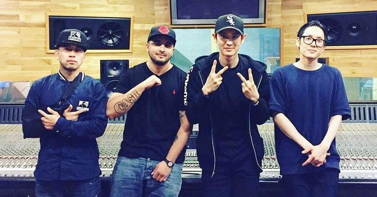 """ชานยอล EXO โกอินเตอร์ แท็คทีม Far East Movement ปล่อยเพลงใหม่ """"Freal Luv"""""""