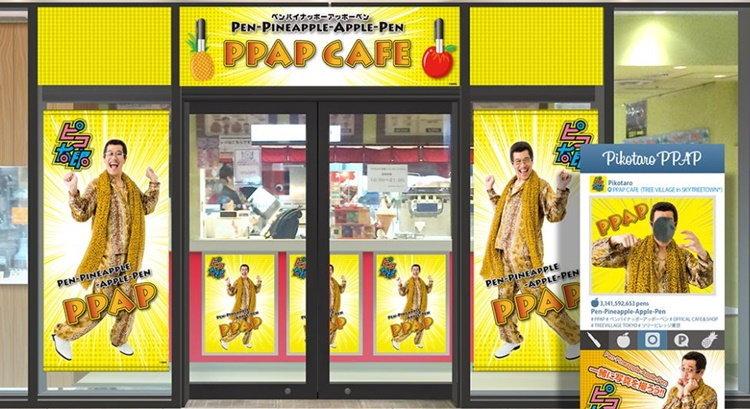 ไปกันใหญ่แล้ว! ต้นสังกัด PIKO TARO เปิดร้านอาหาร PPAP CAFE รับกระแสเพลงฮิต