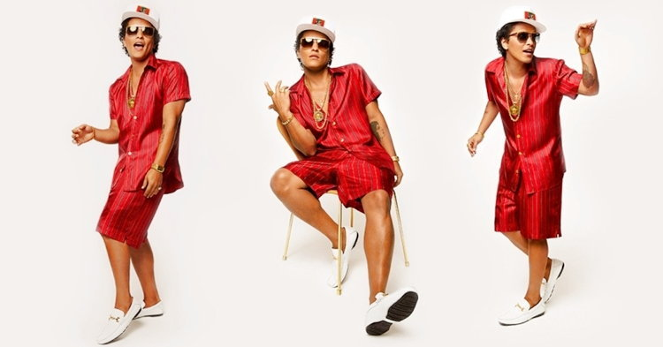"Bruno Mars ช้าๆ ซึ้งๆ เซ็กซี่เล็กๆ กับเพลงบัลลาด 80s' ""Versace on the Floor"""