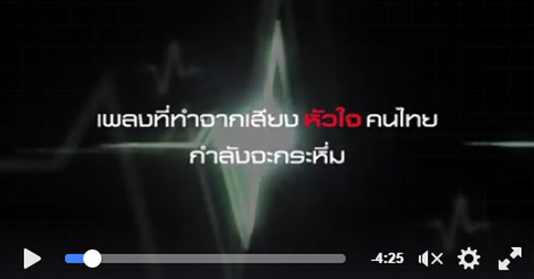 หัวใจไม่เป็นรองใคร! สปอนเซอร์xไทเทเนี่ยม เชียร์ไทยดังกระหึ่ม ในเพลง Heart of Thailand
